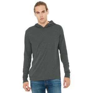 BELLA+CANVAS ® Unisex Jersey Long Sleeve Hoodie – BC3512
