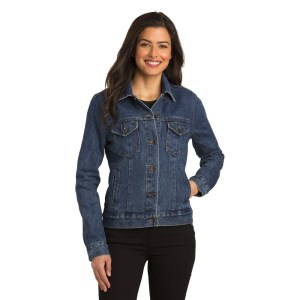 Port Authority® Ladies Denim Jacket – L7620