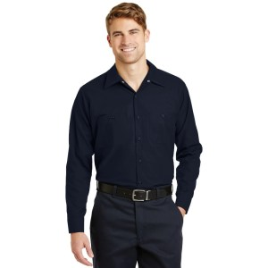 Red Kap® Long Sleeve Industrial Work Shirt – SP14