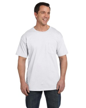 Hanes Adult 6.1 oz. Beefy-T® with Pocket – 5190P