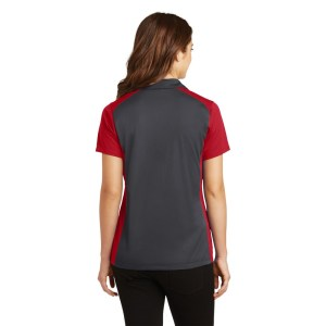 Sport-Tek® Ladies Colorblock Micropique Sport-Wick® Polo – LST652