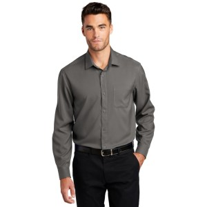 Port Authority ® Long Sleeve Performance Staff Shirt – W401