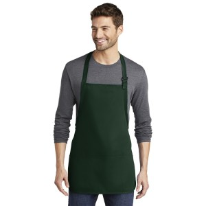 Port Authority® Medium-Length Apron with Pouch Pockets – A510