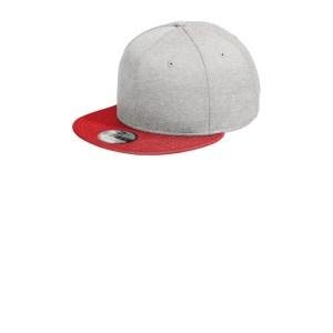 New Era ® Shadow Heather Striped Flat Bill Snapback Cap – NE408