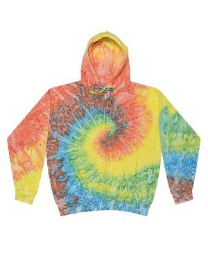 Tie-Dye Adult Tie-Dyed Full-Zip Hooded Sweatshirt – CD8888