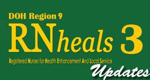 RN Heals 3 Successful Applicant in Zamboanga
