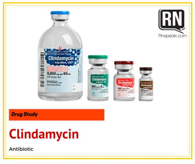 Clindamycin-Drug-Study