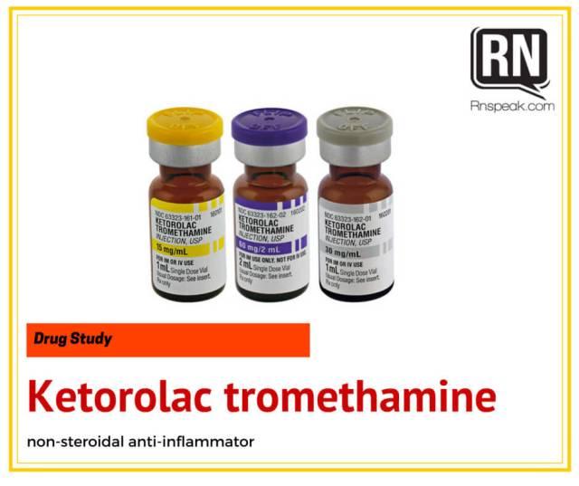 ketorolac-drug-study