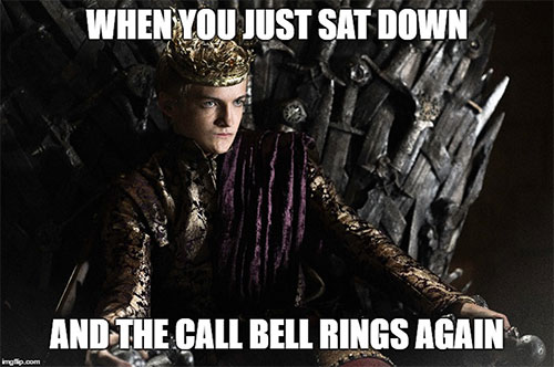 game of throne memes bell rings