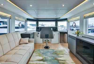 Nomad 65 SUV Wheelhouse Cabin