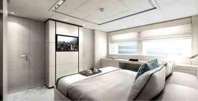 Majesty 120 Double Guest Stateroom