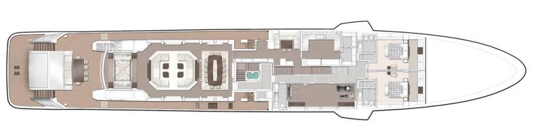 Majesty 175 Main Deck