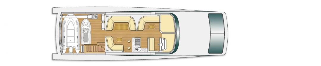 Majesty 90 deck plans 1
