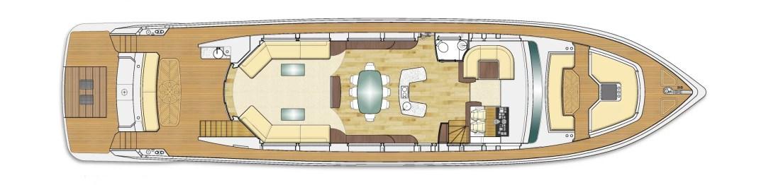 Majesty 90 deck plans 2