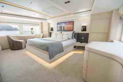 Majesty 100 Owners Stateroom