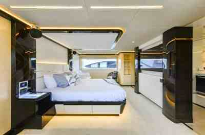 Majesty 122 Owners Stateroom