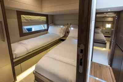 Majesty 62 Twin Guest Cabin