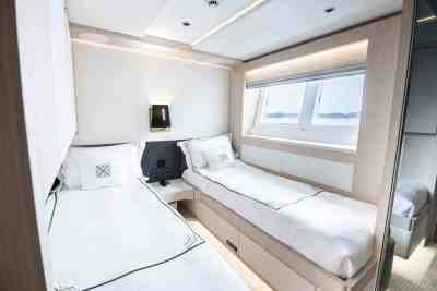 Majesty 100 Twin Guest Stateroom