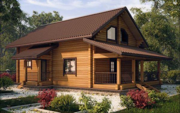 Проекты Деревянные Дома Фото И Цены