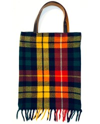 RO124 Stripe & Plaid Tote 02