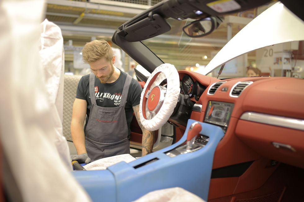 Trimming an interior.  Photo: Thomas Niedermueller/Getty Images