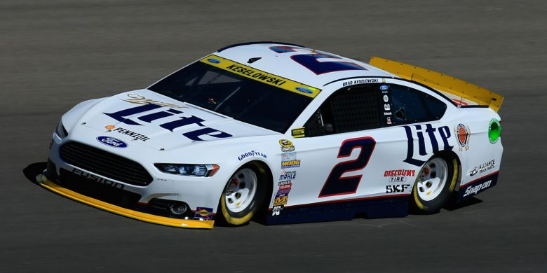 Brad Keselowski Nabs Pole For Kansas Chase Race, Gibbs Cars Stay Close
