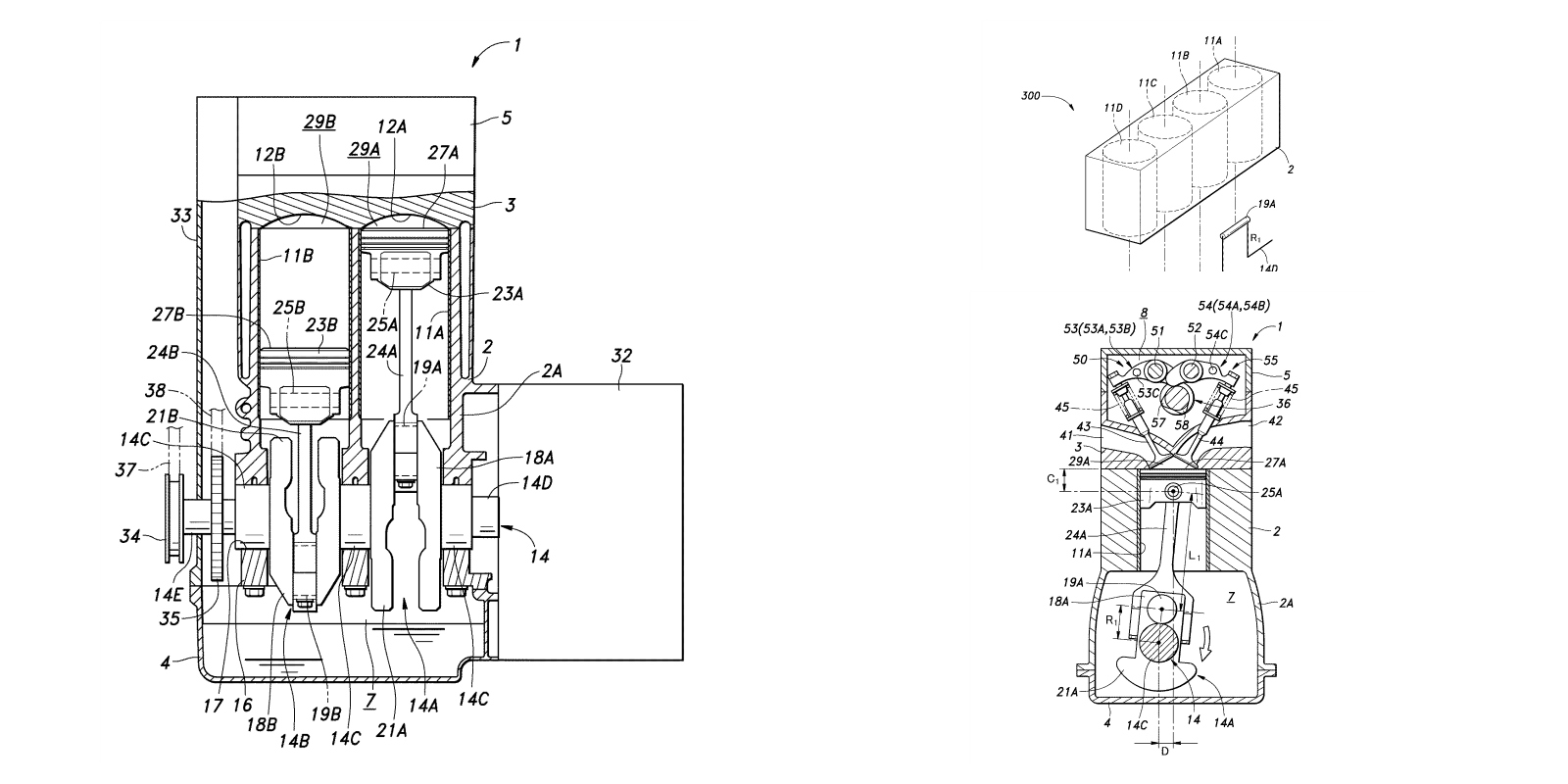 Honda Patents Engine With Two Different Stroke Lengths