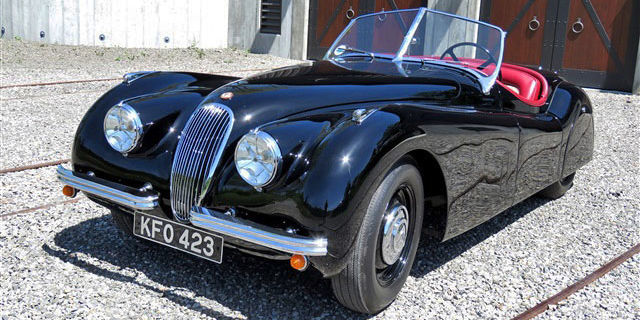 Anyone who's ever seen Cars can tell it was made by an enthusiast. But the question is, what kind of car does that man drive? Turns out, it's this one—a 1952 Jaguar XK120. And the man in question is John Lasseter, the director and co-writer of both Cars movies. $119,500 makes it yours.