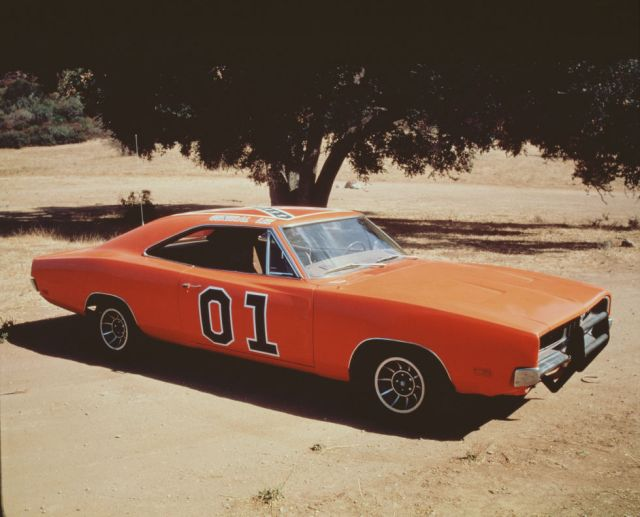 In the last years of the show, producers found they had created a shortage of 1969 Dodge Chargers. They used AMC Ambassadors, painted them orange and used fancy camera angles and editing techniques to try and hide the switch.