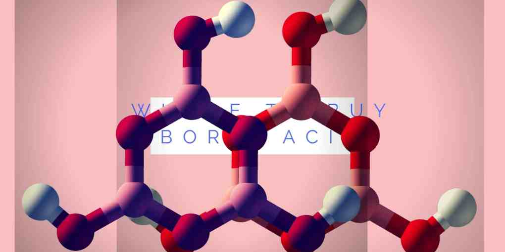 where to buy boric acid