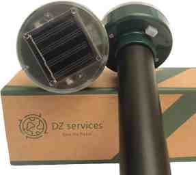 DZ Sevices Solar Mole Repellent Sonic Device