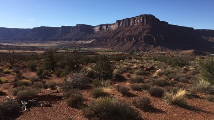 Auf der Mesa retour zum Campground