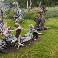 Schwemmholz Skulpturen