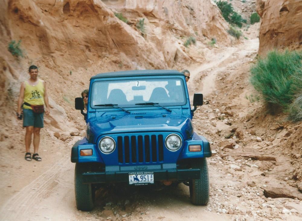 Long Canyon Road July 1999 klein