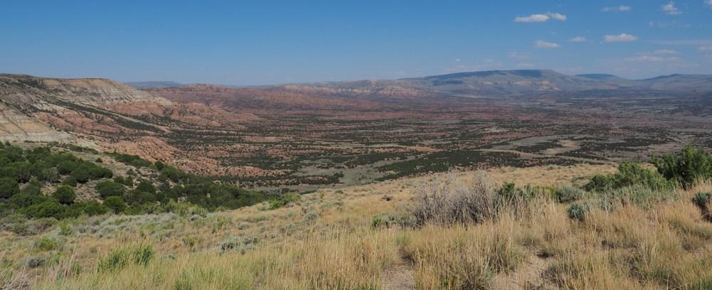 Red Creek Basin bei der Flaming Gorge NRA