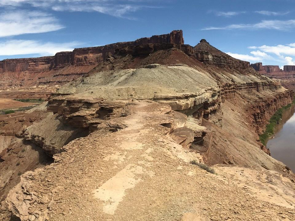 Unterwegs auf dem Fort Bottom Ruin Trail im Canyonlands National Park - Island in the Sky District