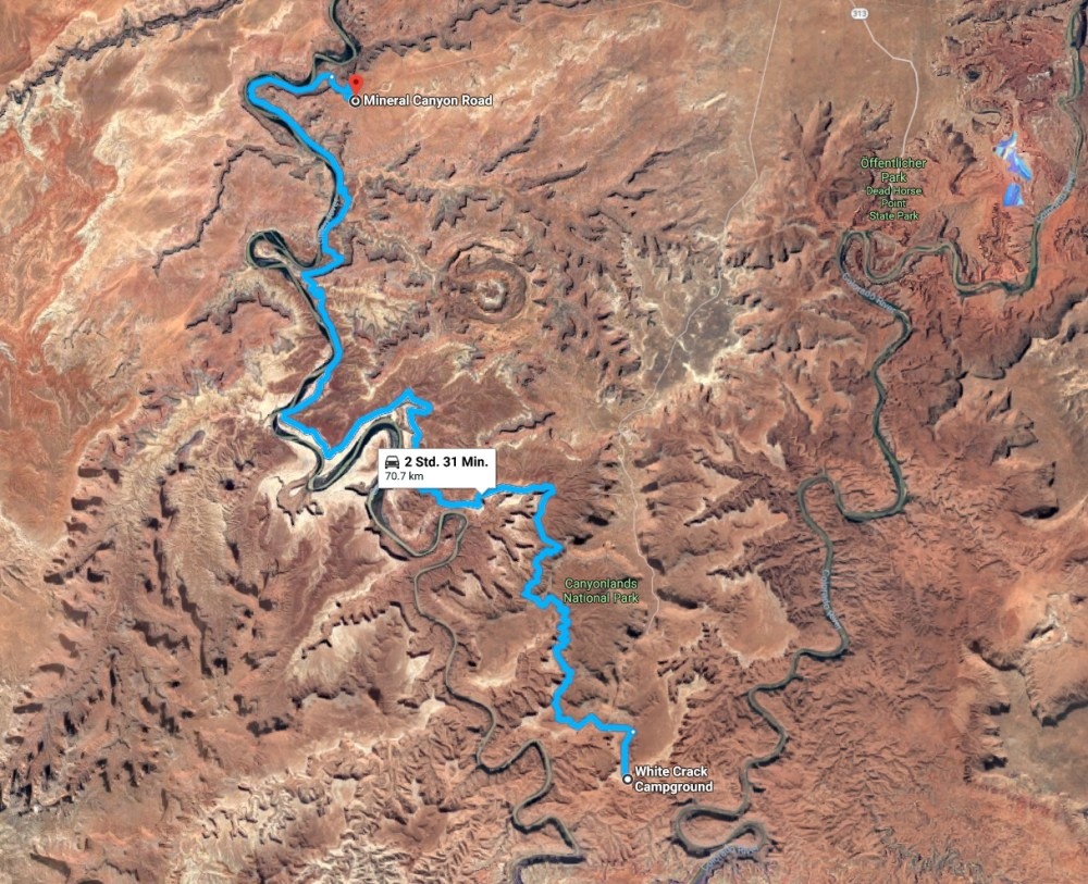 White Rim Road im Canyonlands National Park