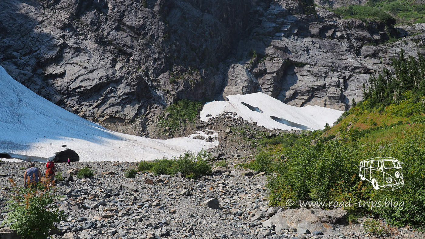 Big Four Ice Caves