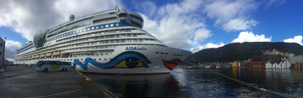 AIDA Bella in Bergen