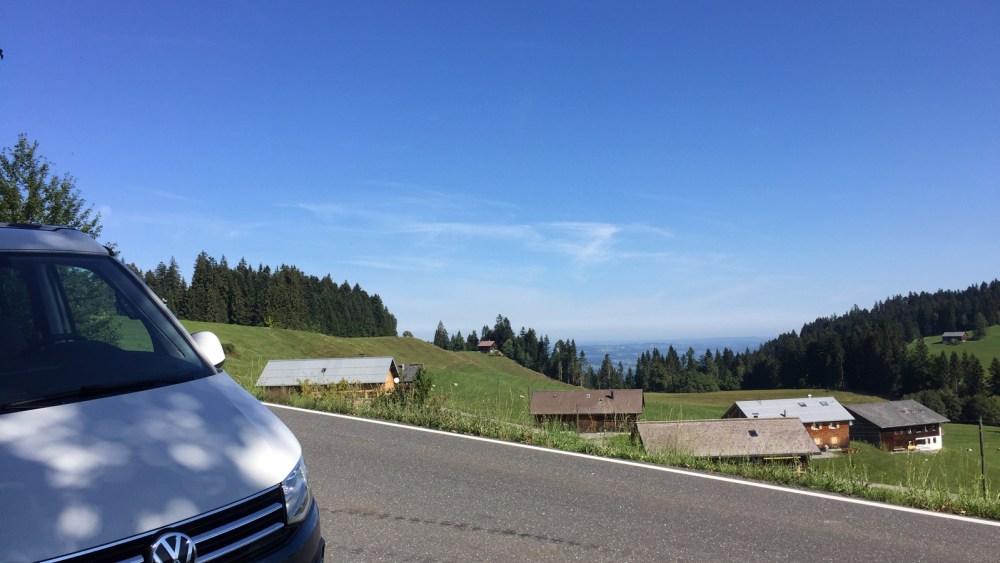 Bödele in Vorarlberg in Österreich