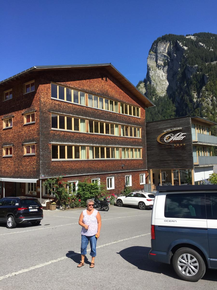 Hotel Adler in Au im Bregenzerwald