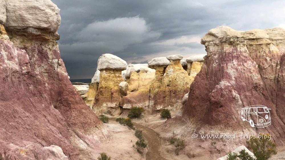 Paint Mines Interpretive Park bei Colorado Springs