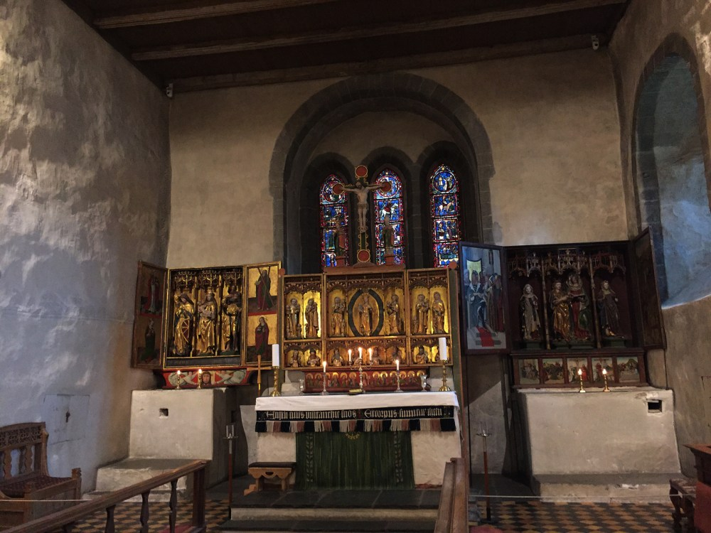 Altar der Kirche von Trondenes