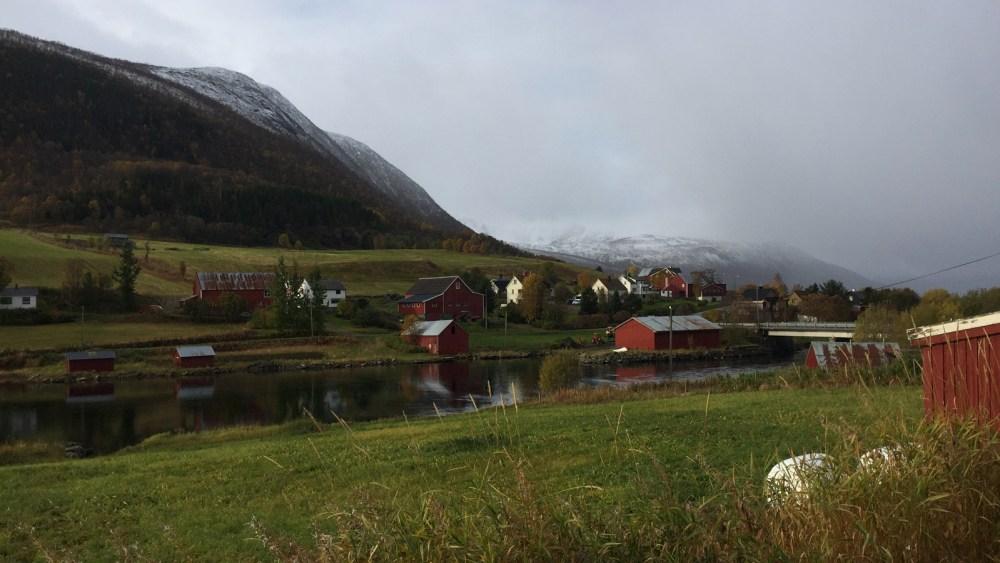 Ein Dorf in den Vesterålen
