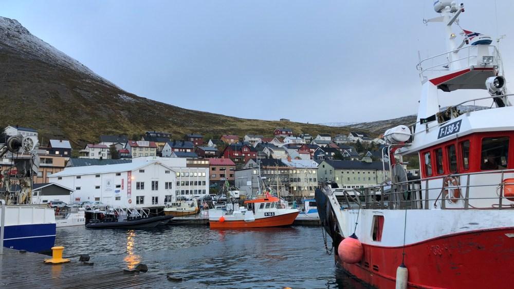 Im Hafen von Honningsvåg