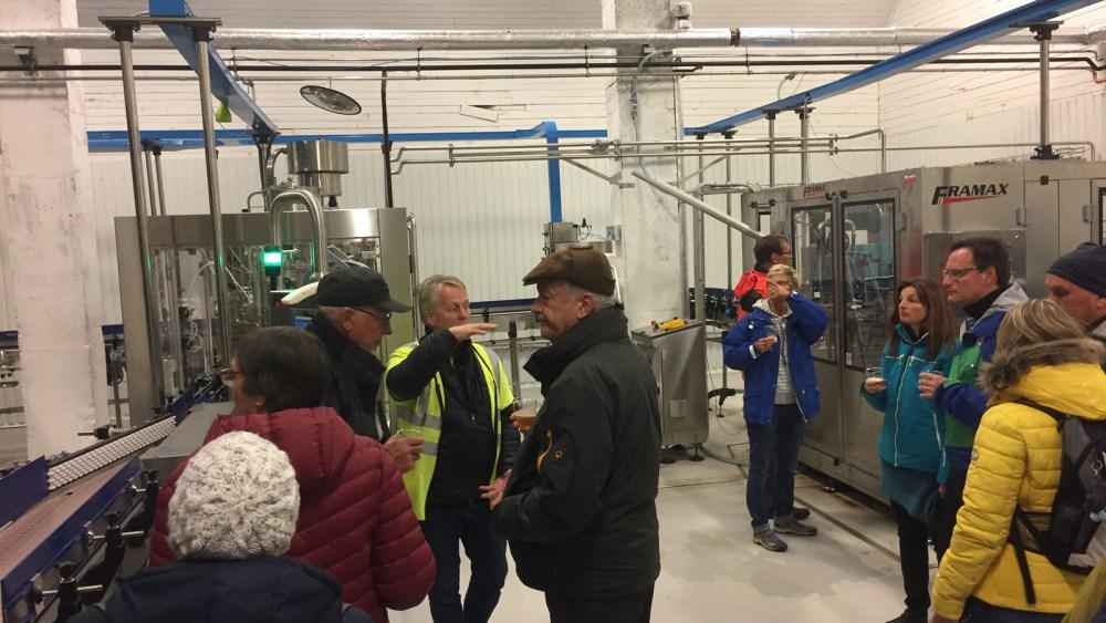 Die Führung durch die Lofotpils Brauerei in Svolvær