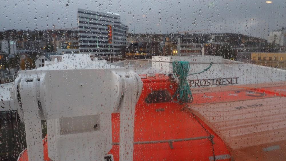 Die MS Polarlys läuft in Tromsø aus