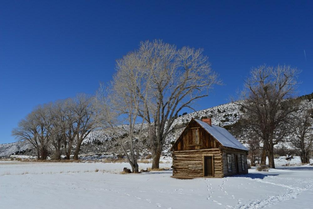 Die Cabin des Butch Cassidy in Circleville, Utah