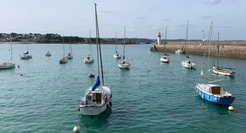 Am Hafen von Erquy