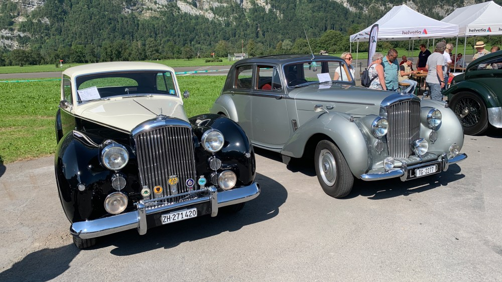 British Car Meeting in Mollis